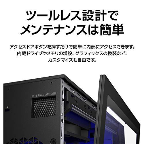 HPゲーミングデスクトップPCインテルCorei7NVIDIA®GeForce®GTX1660SUPER™メモリ16GBWindows10ProOMENbyHP25LDesktop(型番:180H3AA-AAAB)