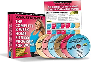 Walk Strong 3: The Complete 8 Week Home Fitness Program for Women Ultimate DVD Collection [20 Workouts on 6 discs, wall calendar included]