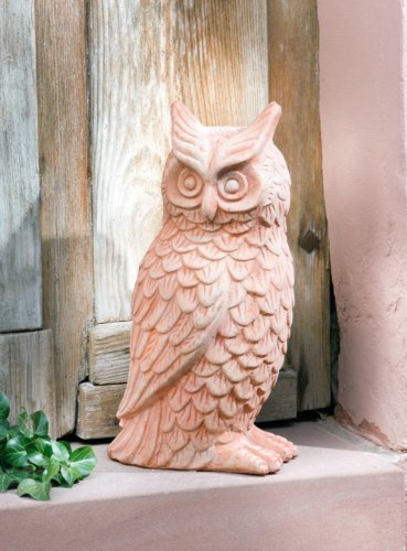 "Eule ""Hedwig"" aus Terracotta"