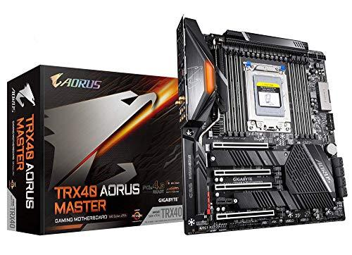 GIGABYTE TRX40 AORUS Master (sTRX AMD TRX40/Fins-Array Heatsink/16+3 Phases Infineon...