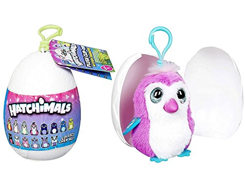 HATCHIMALS Egg Soft Peluche Clip-on - Carácter Misterioso