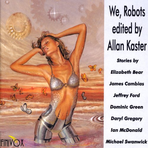 We, Robots audiobook cover art