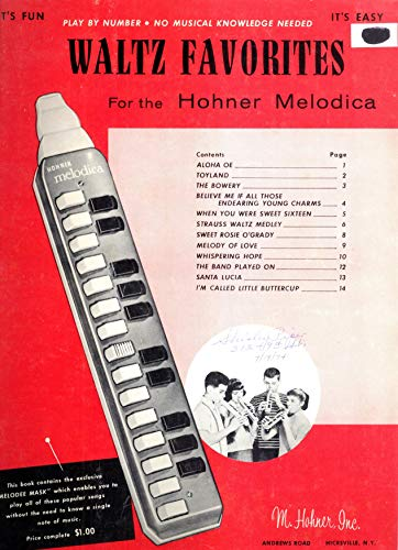 Waltz Favorites for the Hohner Melodica