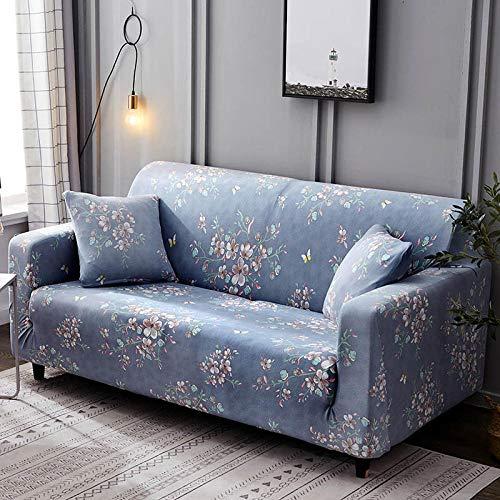 Un Juego Completo de 3 + 1 + 1 Fundas de sofá, Fundas de sofá Flexibles, una Funda Protectora Suave y Moderna para Todo el Rostro,Color_9,4-Seater_235-300cm