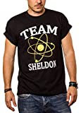 Camiseta Friki Hombre Team Sheldon Big Bang Theory L