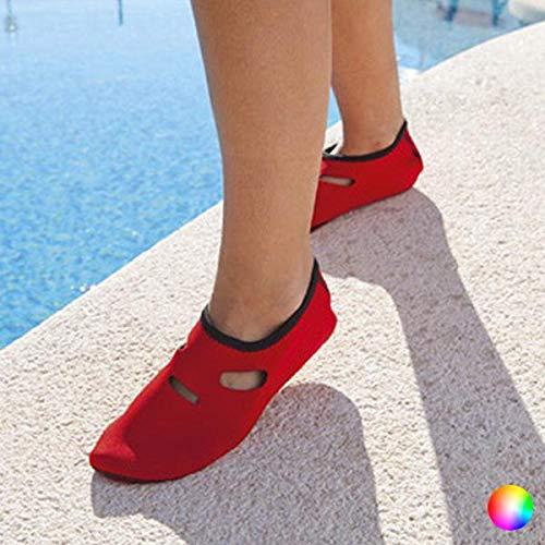 BigBuy outdoor unisex volwassene 144404 sokken, geel, maat 42-44, 32 EU