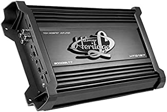 Lanzar Amplifier Car Audio, Amplifier Monoblock, 1 Channel, 3,000 Watt, 2 Ohm, MOSFET,..
