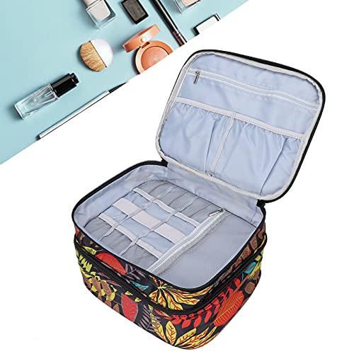 Bolsa de almacenamiento de esmalte de uñas, liviana, suave, desmontable, esterilla de esponja, organizador...
