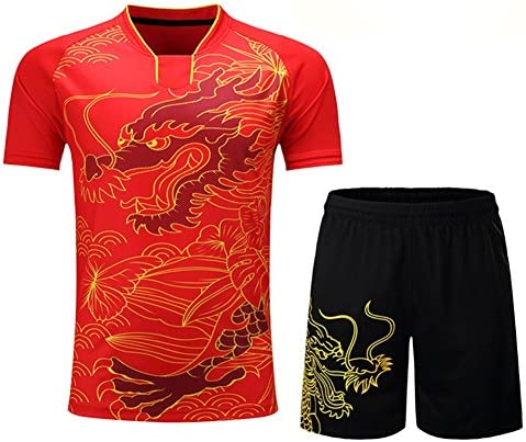Lcoco Dream Men s Breathable Volleyball Jerseys Badminton Uniforms Set Table Tennis Clothing product image