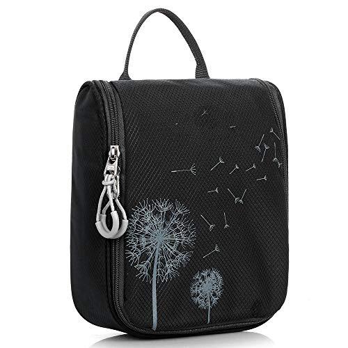 Aseo tas voor buiten, waterdicht, reistas, make-up tas,  Blanco Y Gris (zwart) - 664536995