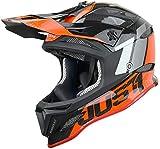 Just 1 Helmets Just1 Jdh Assault Black-Red + MIPS L, Casco de Downhill/MTB/Enduro Unisex – Adulto, Negro-Rojo, L