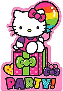 Invitations   Hello Kitty Rainbow Collection   Party Accessory