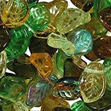 UnCommon Artistry Earth Tones Leaf Mix Beads (Pack of 50)