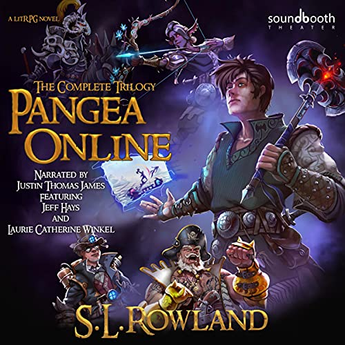 Pangea Online Audiobook By S.L. Rowland cover art