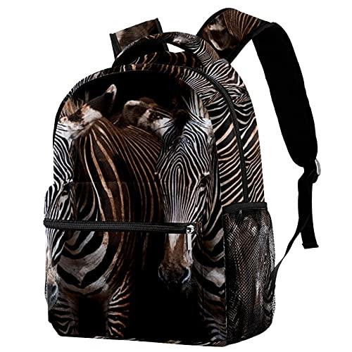 Backpack Mochila De Viaje De Ocio Juvenil Mochila Escolar para Niños Y Niñas Caballo
