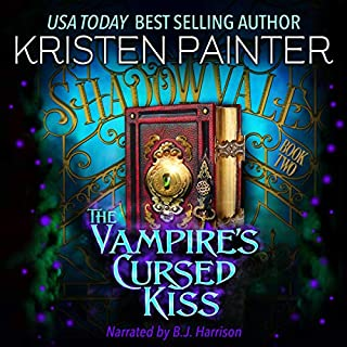 The Vampire's Cursed Kiss  audiobook cover art