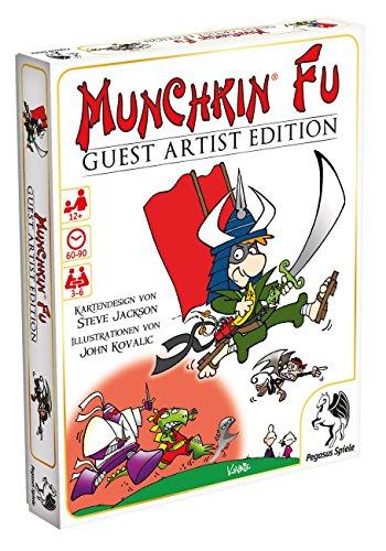 Pegasus Spiele 17233G - Munchkin Fu Guest Artist Edition, Kovalic-Version