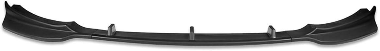 3Pcs Gloss Black Front Bumper Lip Spoiler Wing Body Kit Compatib