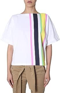 MARNI Luxury Fashion Womens THJE0012PCSCQ21STV35 Multicolor T-Shirt | Fall Winter 19