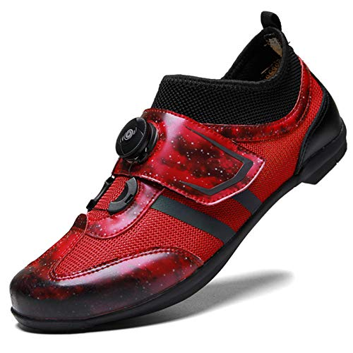 Zapatillas de Ciclismo de Carretera SPD Zapato de Bicicleta MTB Unisex Zapatos...