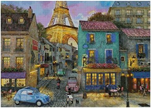 Gifts Max 66% OFF A Walk in Paris Counted Kits Cross Stitch 400x285stitch 82x64cm