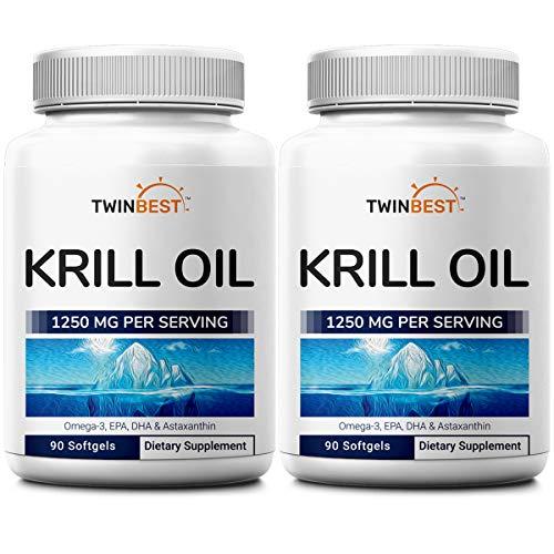 Twinbest Antarctic Krill Oil Softgels