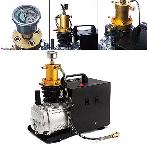 Hogedruk luchtcompressor, 1800 W, elektrische luchtcompressor, PCP 40 MPA, 4500 PSI met lichtmanometer, hogedrukpomp DHL