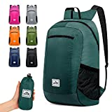 Hiking Backpack Ultra Lightweight Packable Camping Backpack Daypack Waterproof Outdoor bag for Travel Women Men(BLUE 16L)