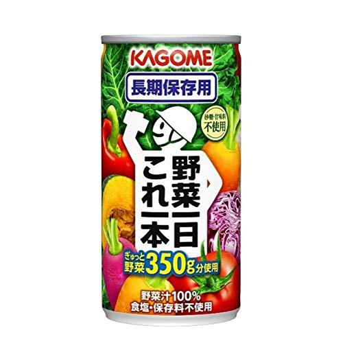 野菜一日これ一本 長期保存用 190g×90本 缶