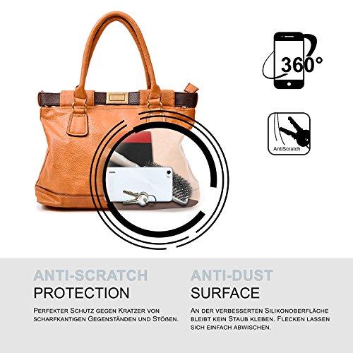 Ultra-Clear Case [Vollständig Transparent] passend für Huawei Honor 6   rutschfest und extrem dünn – Fast unsichtbar, Klar - 6