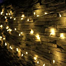 LED String Lights, Decorative Mini LED Lights Indoor and Outdoor, Plug in, Timer, Soft Warm White, 200 LED, 69 FT Long