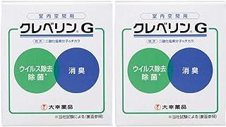 【2個】クレベリンG(ゲル)目安8~12畳 約2ヵ月間 150gx2個 (業務用)