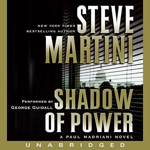 Shadow of Power audiobook cover art