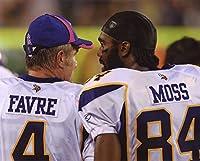 Brett Favre-randy Moss Minnesota Vikings 8x10 Sports Action Photo (xxxl)