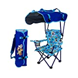 Kelsyus Kids Outdoor Paw Patrol Canopy Chair - Foldable Children's Chair for Camping, Tailgates, and Outdoor Events