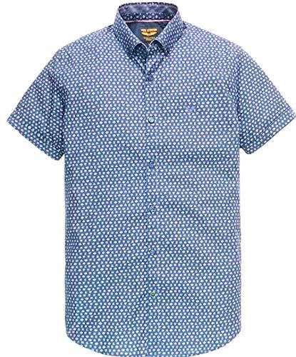 PME Legend Short Sleeve Shirt Poplin All-Over