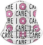 asdew987 I Donut Care. Braga de cuello calentador de oído diadema bufanda máscara facial bandanas