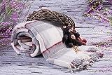 Merino Wool Bedding Blanket - Manta (lana de oveja, 160 x 200 cm), diseño de cuadros