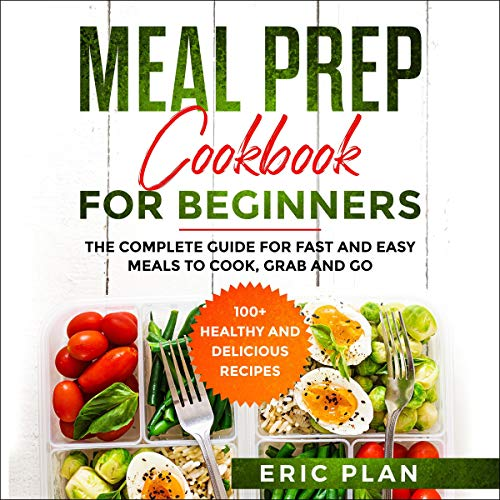 Meal Prep Cookbook for Beginners cover art