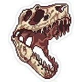 B. Strange Mall Tiny T-Rex Skull Stickers (3 Pcs/Pack)