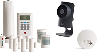 SimpliSafe 12-Piece Home Security System with HD Camera & Smoke Detector