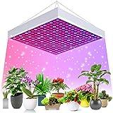 Ulikey LED Grow Light, Lámpara LED para Plantas, Luces de Cultivo LED para Plantas, Lámpara de Crecimiento para Interiores, Lámpara LED para Crecimiento Plantas para Flores, Verduras, Frutas