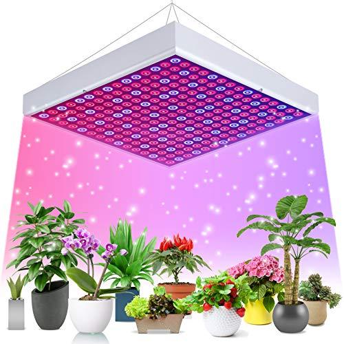 Ulikey LED Pflanzenlampe, Pflanzenlicht mit 225 LEDs, Pflanzenleuchte mit Rot Blau Licht, Vollspektrum Wachsenlicht für Zimmerpflanzen und Blumen