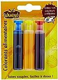 Vahiné Colorant Alimentaire 3 tubes de 6ml