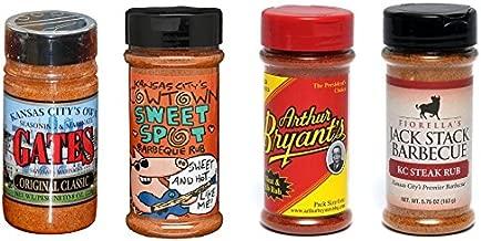 Kansas City BBQ Dry Rub Variety Pack (4)