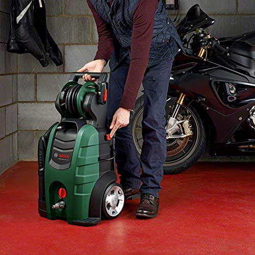 BOSCH AdvancedAquatak 140 pressure washer Upright Electric Black,Green 450 l/h 2100 W AdvancedAquatak 140, Upright, Electric, 8 m, High-pressure, 5 m, Black,Green