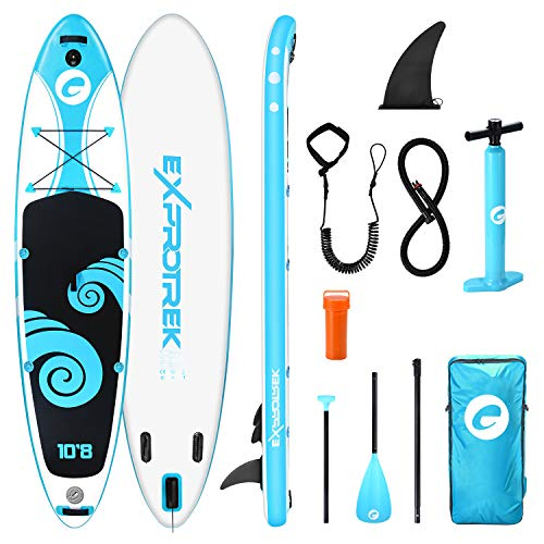 Exprotrek Stand Up Paddling Board, SUP Board, Stand Up Paddle Board Set