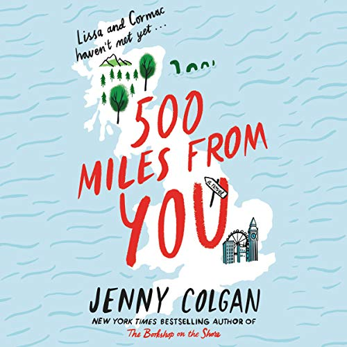 500 Miles from You audiobook cover art