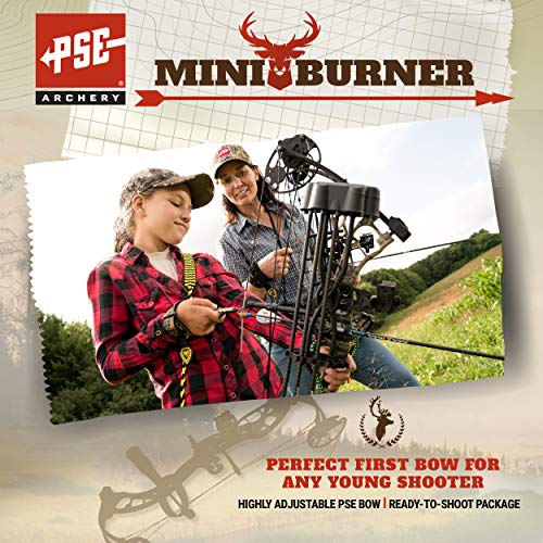 Product Image 1: PSE ARCHERY, Mini Burner Compound Bow, Mossy Oak Country Camo, Right Hand, 40#