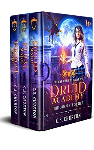 Druid Academy: The Complete Series: A Magic Academy Adventure (English Edition)